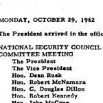 President's Daily Diary