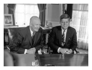 Eisenhower and JFK