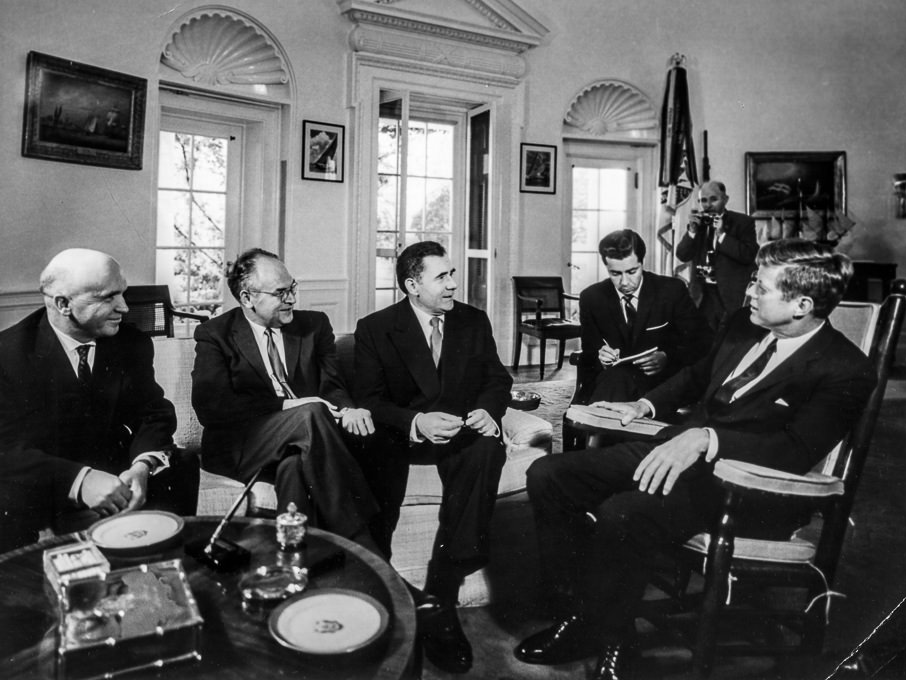 jfk u0026 39 s october 1963 meeting with andrei gromyko  u00bb photos