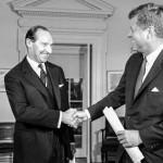 JFK and David Ormsby-Gore