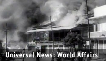 Universal Newsreel reports related to World Affairs during Kennedy's presidency.